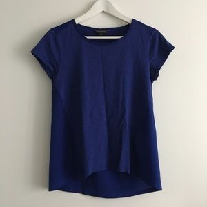 Banana republic crewneck blouse top short sleeves